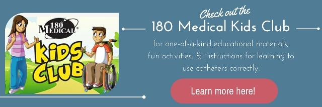 kids club 180 medical spina bifida sci special needs catheters
